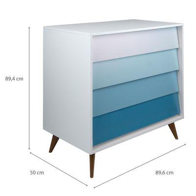 comoda-vintage-4-gavetas-branca-com-degrade-azul04