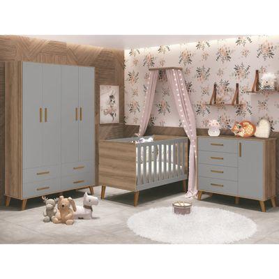 kit-quarto-infantil-ayla-cinza-com-mezzo-berco-comoda-guarda-roupa