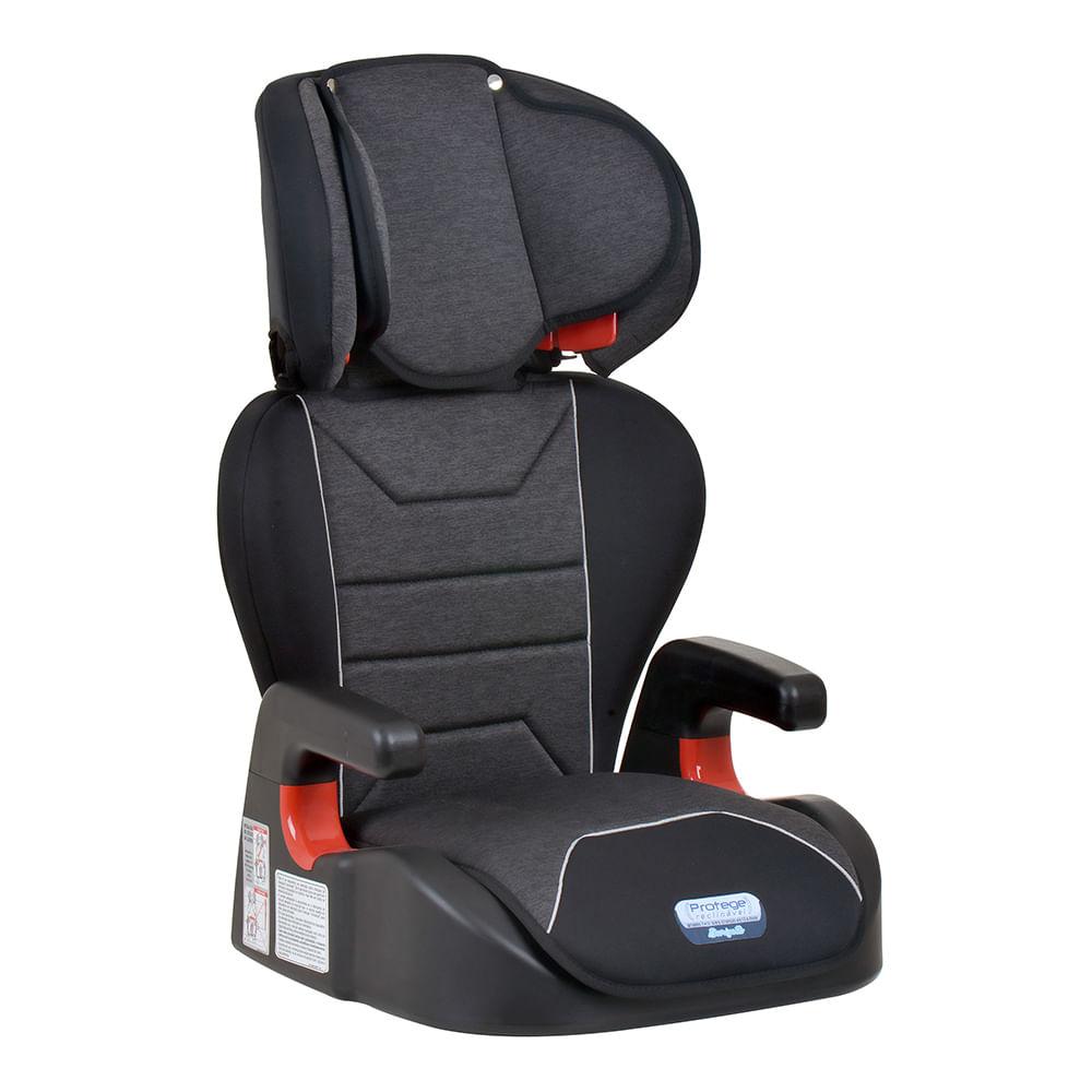 Cadeira-para-Auto-Burigotto-Protege--15-a-36kg--–-Mesclado-Preto1