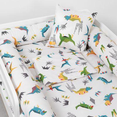 lencol-mini-cama-com-elastico-e-fronha-dino-quatro