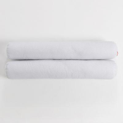 kit-de-rolo-pequeno-para-mini-cama-triangulos-cinza-2-pecas