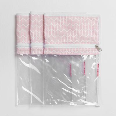 organizador-de-maternidade-geometrico-com-3-pecas-rosa-1