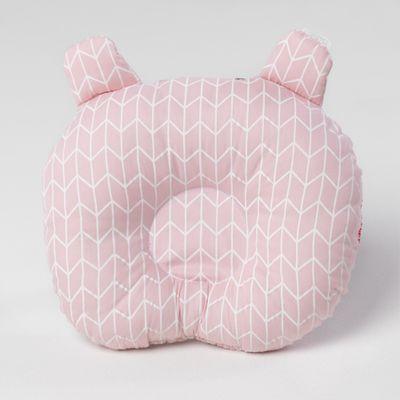 travesseiro-de-bebe-ursinho-com-tecido-geometrico-rosa-1