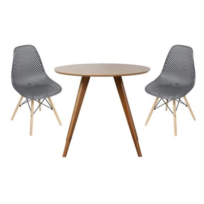conjunto-mesa-square-redonda-tampo-betula-88cm-2-cadeiras-eames-colmeia-preta