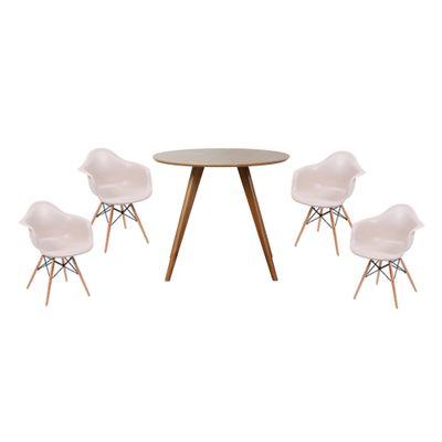 conjunto-mesa-square-redonda-tampo-betula-88cm-de-diametro-com-4-cadeiras-eiffel-com-braco-fendi