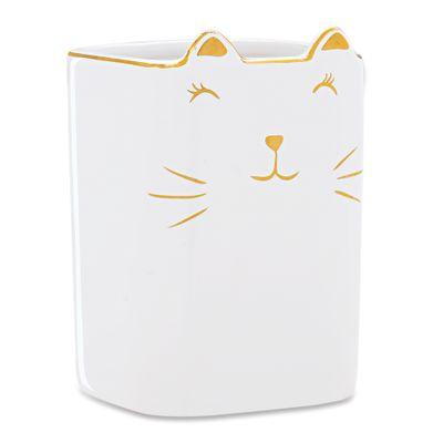 porta-treco-gato-em-ceramica-branco-com-dourado