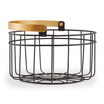 cesto-organizador-em-metal-preto-e-dourado