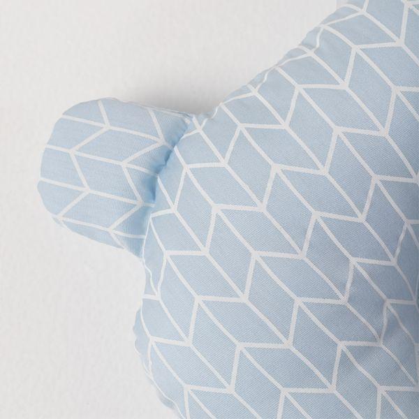 Travesseiro-Ursinho-de-Bebe-Tecido-Geometrico---Azul-Claro2