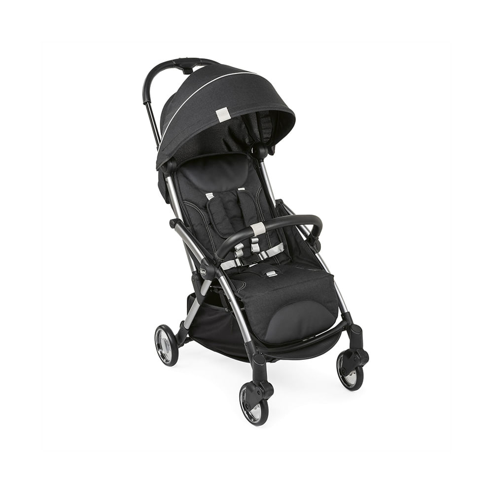 Carrinho de Bebê Chicco Goody 3 Posições - Graphite