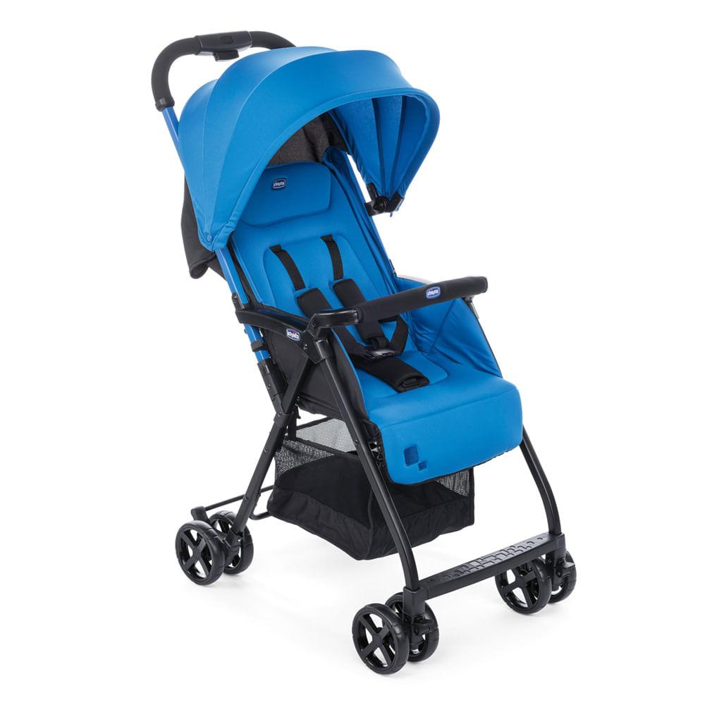 Carrinho de Bebê Chicco 5 Posições Ohlalà 2 Power Blue