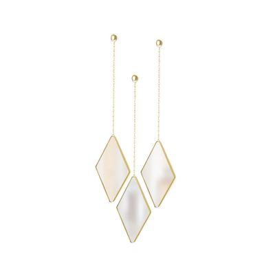 trio-de-espelhos-diamond-mirror-dourado