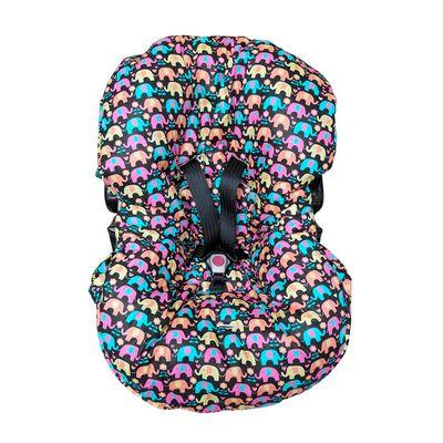 capa-para-bebe-conforto-elefante-colorido