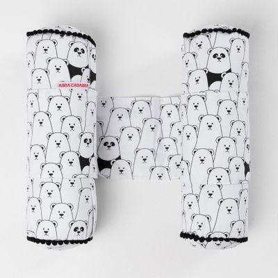 segura-bebe-urso-preto-e-branco