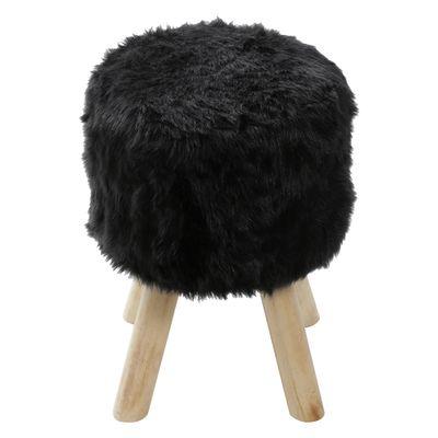 puff-big-peludo-preto-base-madeira-or-6625-lateral