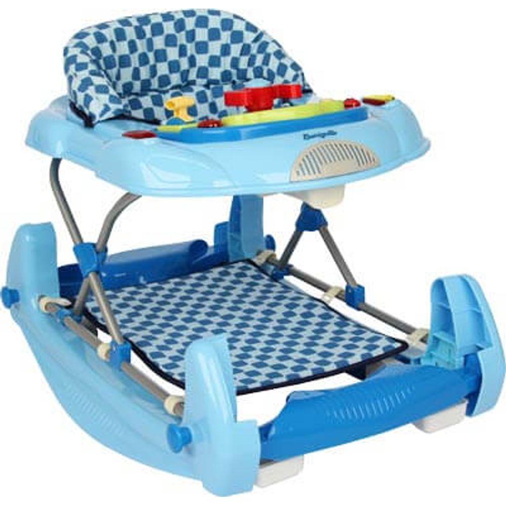 Andador Infantil Burigotto Baby Coupé - Azul