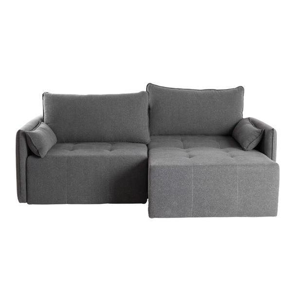 sofa-retratil-ming-tecido-linho-grafitte-198cm-frontal-aberto-lado-direito