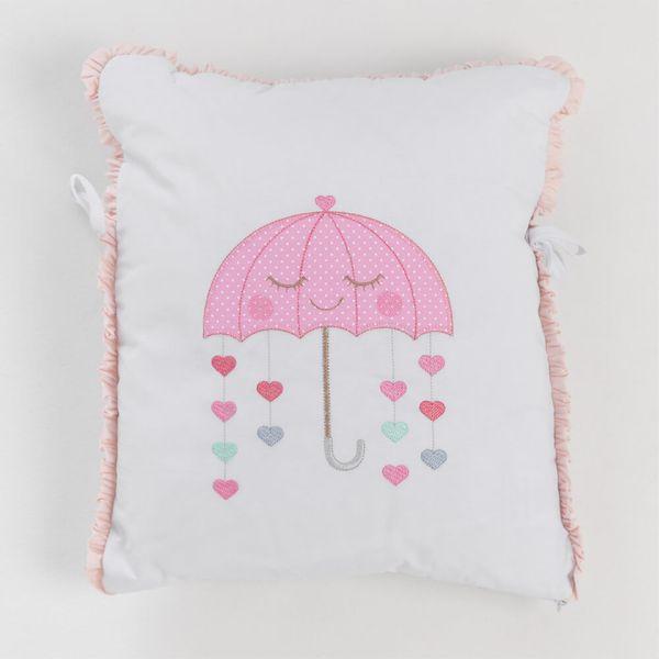 kit-de-berco-10-pecas-arco-iris-baby-magia-almofada-guarda-chuva