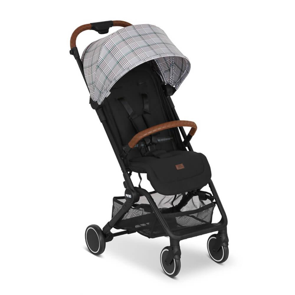 Carrinho de Bebê ABC Design Ping – Xadrez