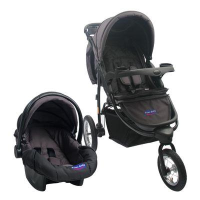 carrinho-travel-system-prime-baby-triciclo-velloz-cinza