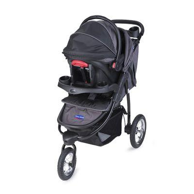 carrinho-travel-system-triciclo-velloz-3-posicoes-cinza