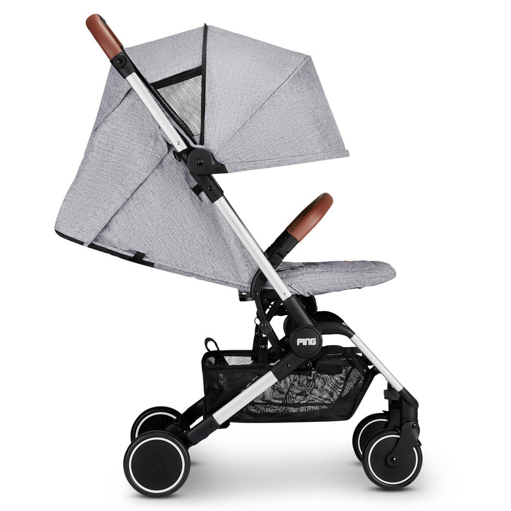 Carrinho de Bebê ABC Design Ping - Graphite Grey