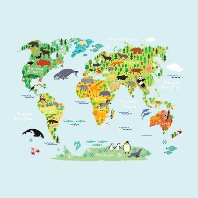 papel-de-parede-mapa-mundi-green