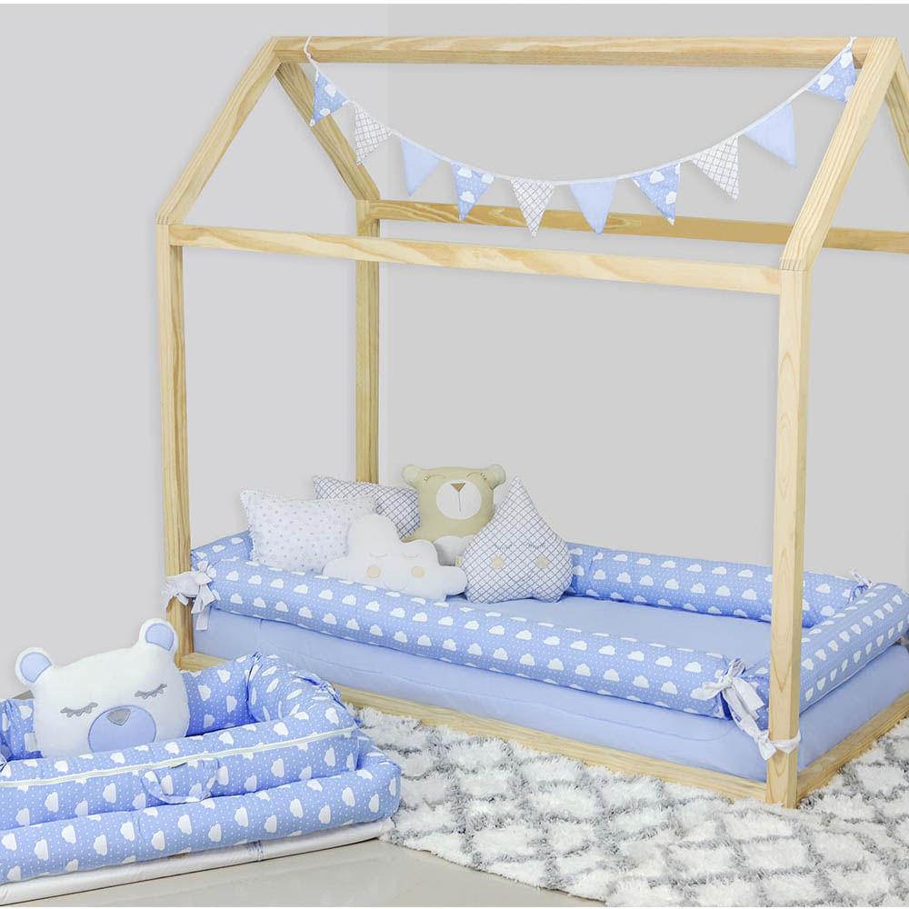 kit-mini-berco-07-pecas-nuvem-azul-bebe
