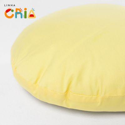 almofada-redonda-amarela