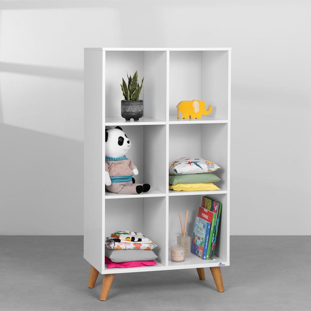 Guarda roupa Montessoriano Analu – Branco Fosco