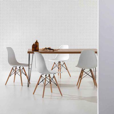 Conjunto-Mesa-Industrial-Iron-135cm-Louro-Freijo-com-4-Cadeiras-Eiffel-Bran
