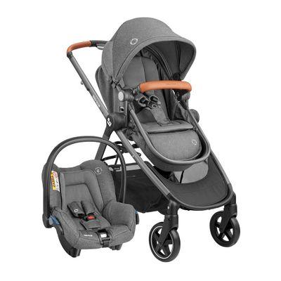 carrinho-travel-system-maxi-cosi-anna-trio-sparkling-grey