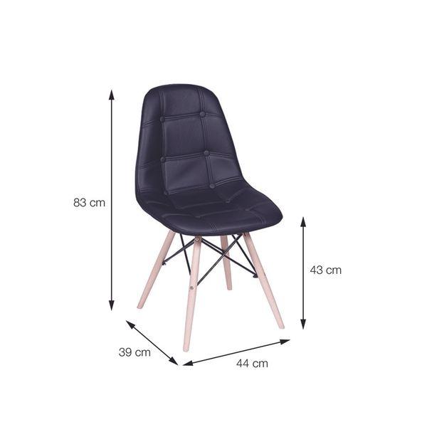 Conjunto-com-4-Cadeiras-Eames-Eiffel-Botone---Amarelo