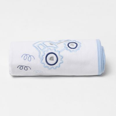 cueiro-bordado-trator-azul-dobrado