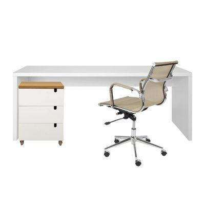 kit-escritorio-bancada-136cm-modulo-gavetas-louro-freijo-poltrona-noruga-cobre-completo