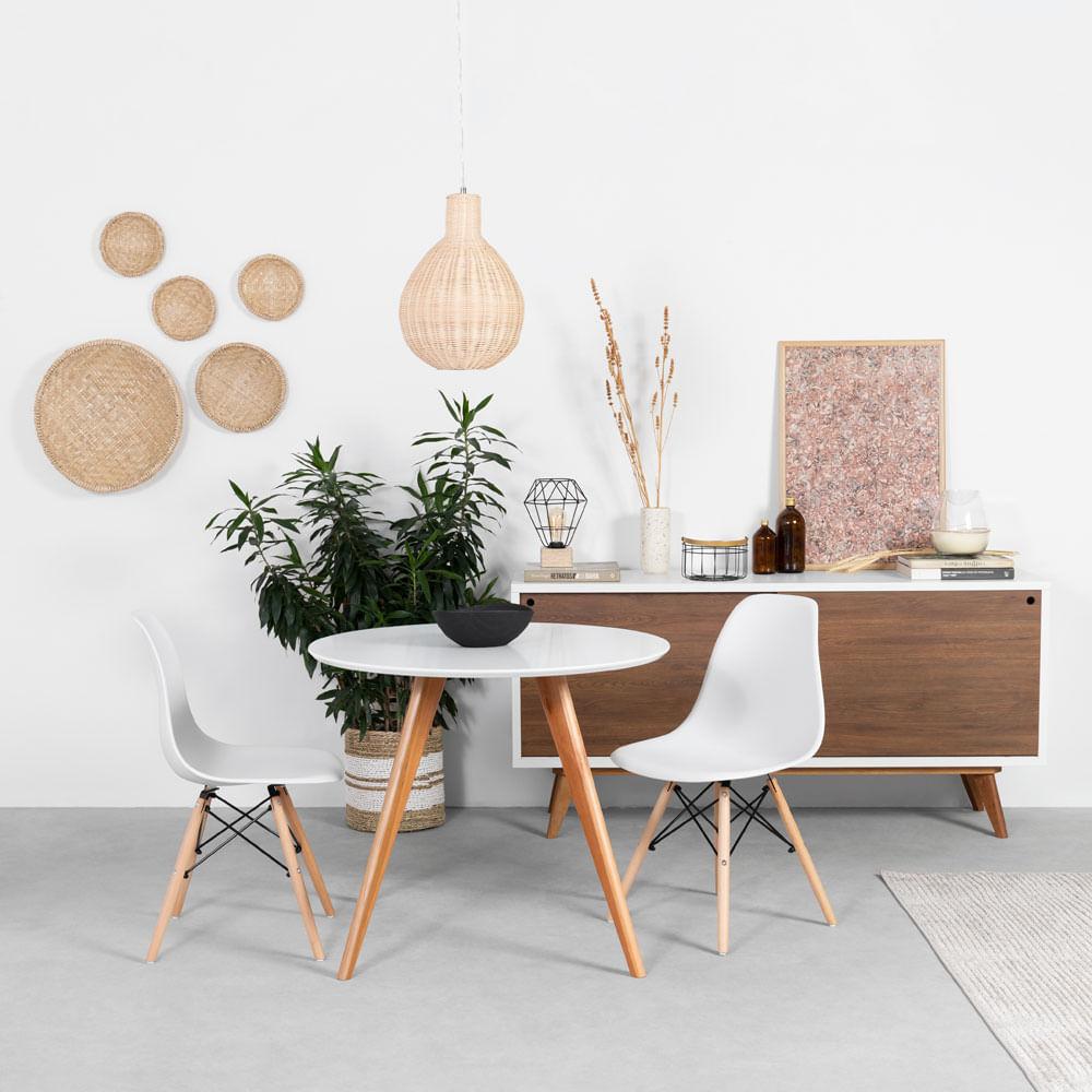 conjunto-mesa-square-redonda-branco-fosco-80cm-2-cadeiras-eiffel-branca-base-madeira