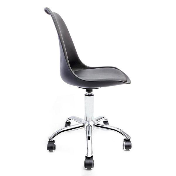 cadeira-de-escritorio-saarinen-giratoria-prata-e-preta-lateral