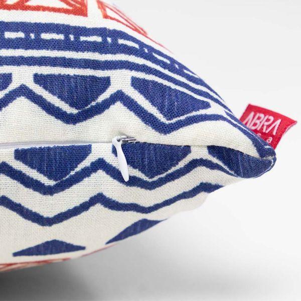 almofada-quadrada-la-stampa-etnica-azul-e-rosa-ziper