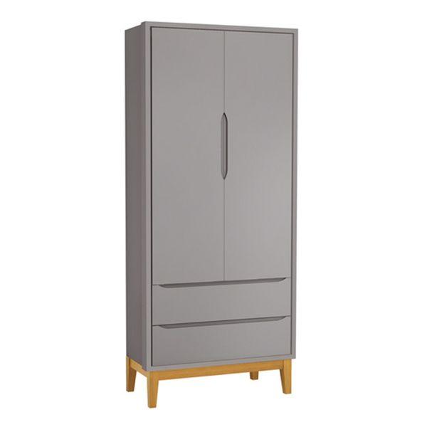 guarda-roupa-retro-square-2-portas-com-pes-em-madeira-cinza-fosco-fechado