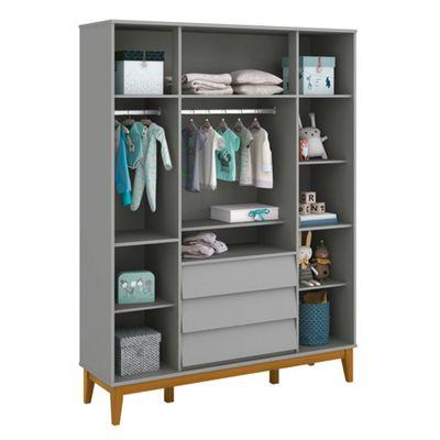 armario-infantil-noah-4-portas-cinza-detalhe-interior