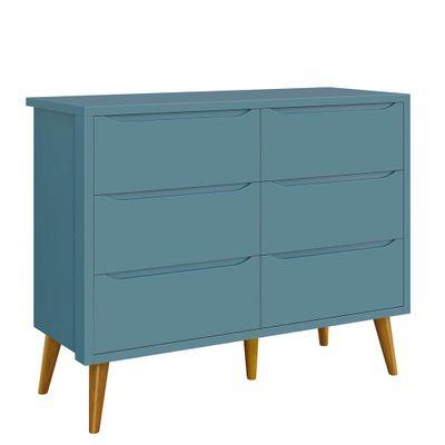 comoda-retro-theo-seis-gavetas-azul
