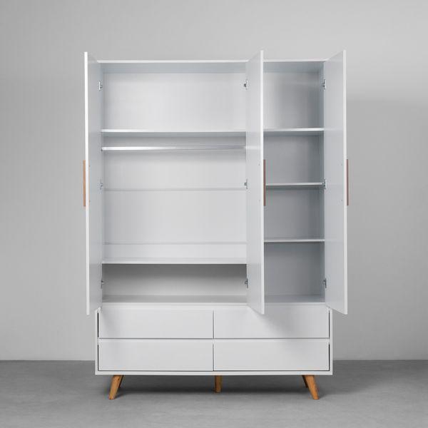 guarda-roupa-retro-3-portas-e-4-gavetas-branco-fosco-frontal-aberto