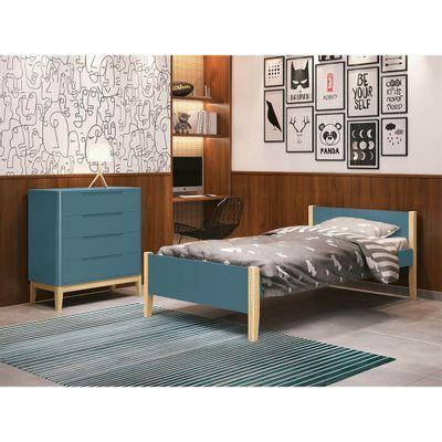 cama-solteiro-noah-com-pes-em-madeira-natural-azul-ambiente