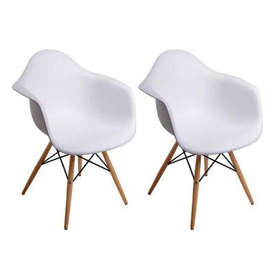 conjunto-2-cadeiras-eiffel-com-braco-branco