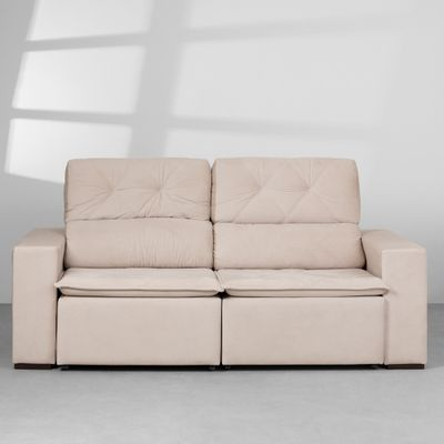 sofa-londres-retratil-veludo-paris-bege-claro-200-cm-frontal