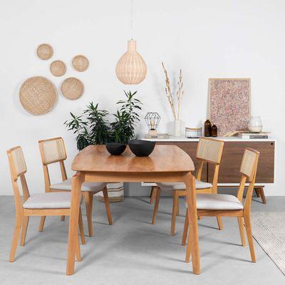 conjunto-mesa-lala-180x100-com-4-cadeiras-lala-linho-bege-ambiente